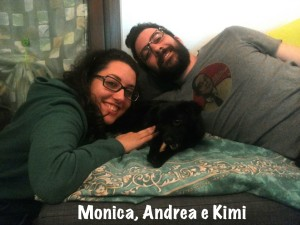 Monica Andrea e Kimi
